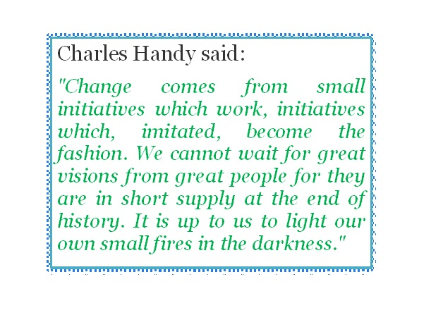 charles handy Portfolio careers, the rise of the home-worker, the spread of outsourcing, the dangers of an obsession with shareholder value charles handy was talking about these ideas two decades ago at the time they sounded radical, now they are commonplace at 80, he ought to be content yet, from his.